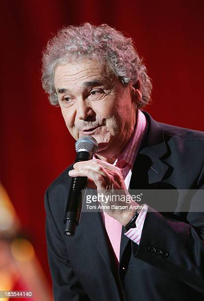 Pierre Perret performs at L'Olympia on January 20 2010 in Paris France