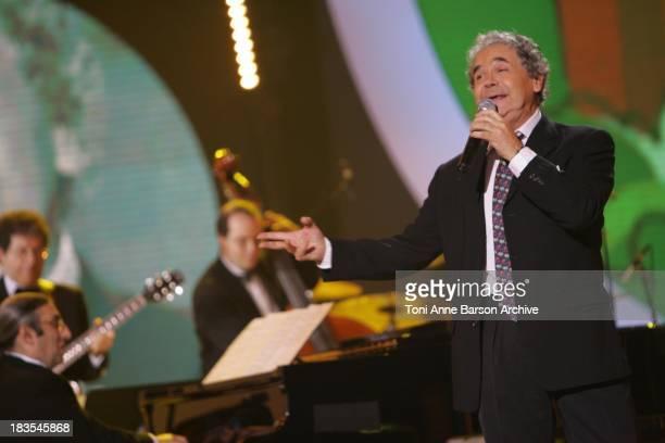 Pierre Perret performs on Fete de la Chanson Francaise on January 16 2008 in Paris