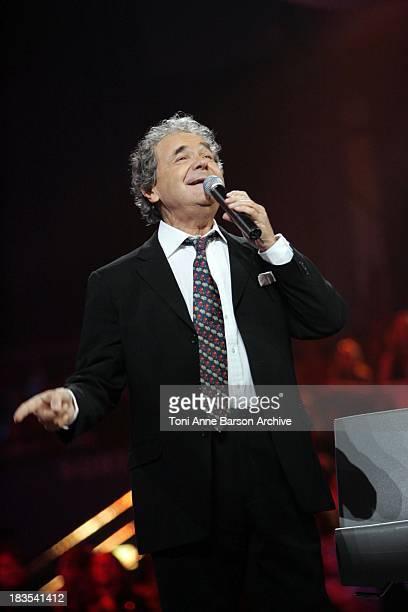 Pierre Perret performs on La Fete de la Chanson Francaise on January 16 2008 in Paris France