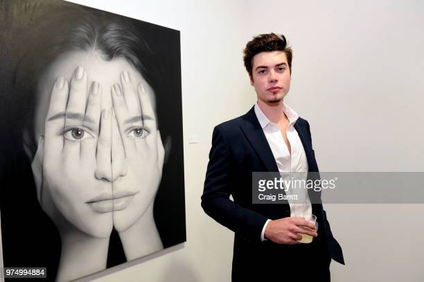 Pierre Perrier attends the Tigran Tsitoghdzyan Uncanny show at Allouche Gallery on June 14 2018 in New York City