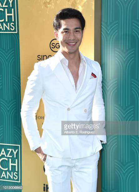 """Pierre Png attends the premiere of Warner Bros. Pictures' """"Crazy Rich Asiaans"""" at TCL Chinese Theatre IMAX on August 7, 2018 in Hollywood, California."""