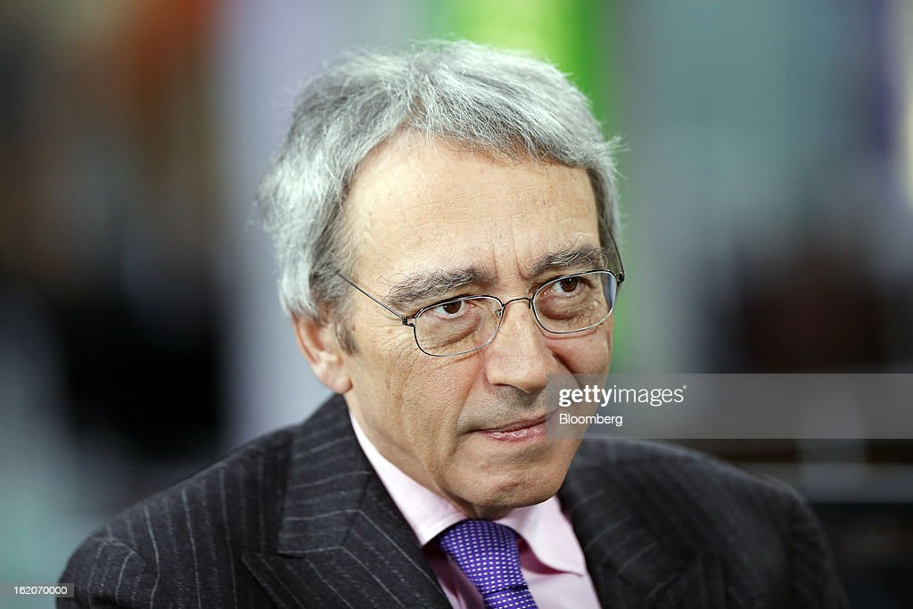 Pierre Pringuet, chief executive officer of Pernod Ricard SA, pauses during a Bloomberg Television interview in London, U.K., on Tuesday, Feb. 19, 2013. Pernod Ricard SA, the maker of Absolut vodka, indicated an interest in acquiring Jose Cuervo after its biggest competitor failed to buy the tequila brand, though downplayed the prospect of any imminent deal. Photographer: Simon Dawson/Bloomberg via Getty Images
