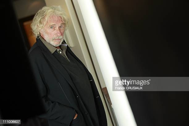 Pierre Richard actor at before the premier of his film Victor in Lille France on September 22nd 2009