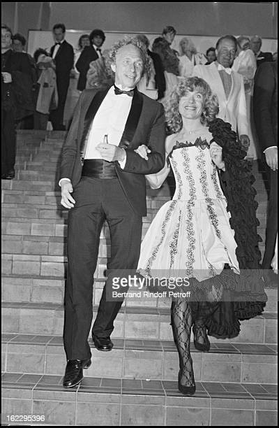 Pierre Richard and Elisabeth Depardieu at 1983 International Cannes Film Festival .