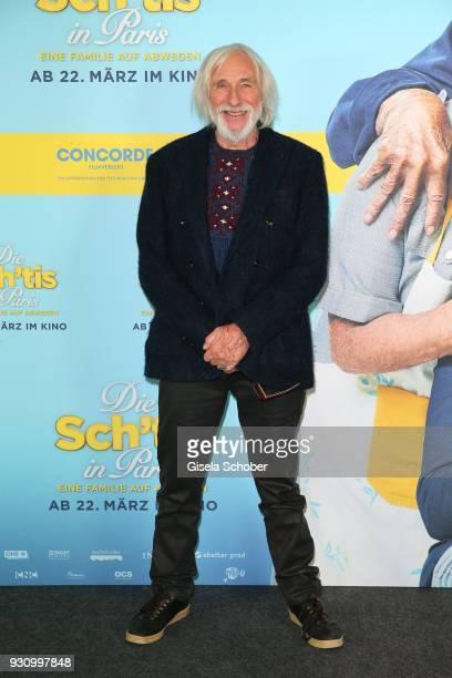 Pierre Richard attends the 'Die Sch'tis in Paris' photo call at Hotel Bayerischer Hof on March 12 2018 in Munich Germany