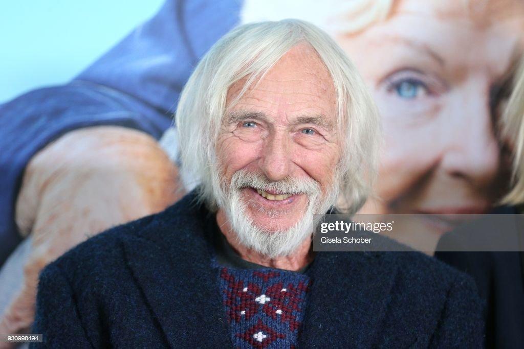 Pierre Richard attends the 'Die Sch'tis in Paris' photo call at Hotel Bayerischer Hof on March 12, 2018 in Munich, Germany.