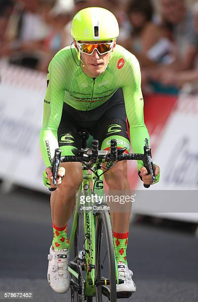 Pierre Rolland of France and Cannondale Drapac Team in action during stage 18 of the Tour de France 2016 a time trial of 17km between Sallanches and...