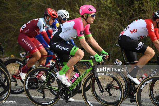 Pierre Rolland of France and Team EF Education FirstDrapac p/b Cannondale / during the 98th Volta Ciclista a Catalunya 2018 Stage 1 a 1523km stage...