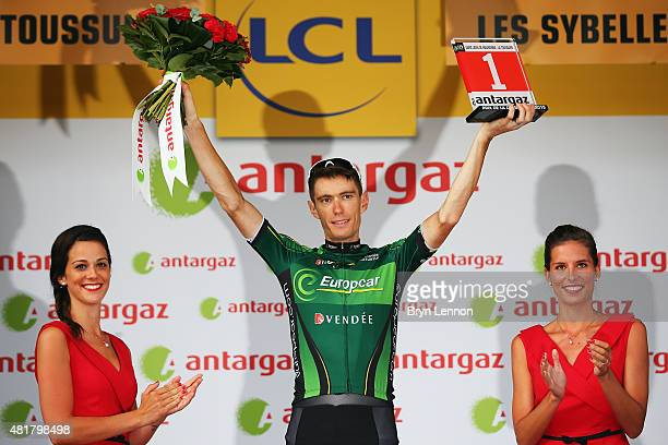 Pierre Rolland of France and Team Europcar won the Prix Brandt de la Combativitie during stage nineteen of the 2015 Tour de France a 138km stage...