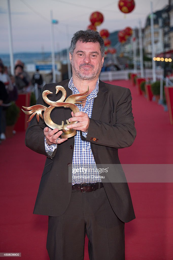 Pierre Salvadori awarded 'best director' during the 28th Cabourg Film Festival : Day 4 on June 14, 2014 in Cabourg, France.