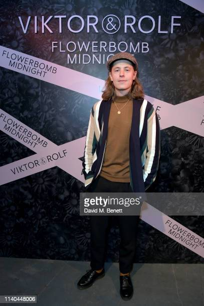 Pierre Sarkozy attends the launch party to celebrate Viktor Rolf new scent Flowerbomb Midnight at London on April 04 2019 in London England