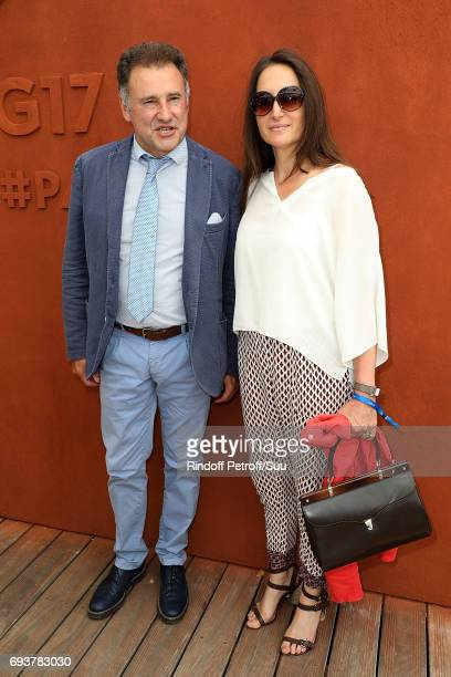 Pierre Sled is spotted at Roland Garros on June 8 2017 in Paris France