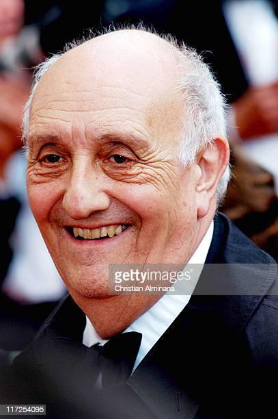 Pierre Tchernia during 2004 Cannes Film Festival The Bad Education Opening Night Premiere at Palais Du Festival in Cannes France