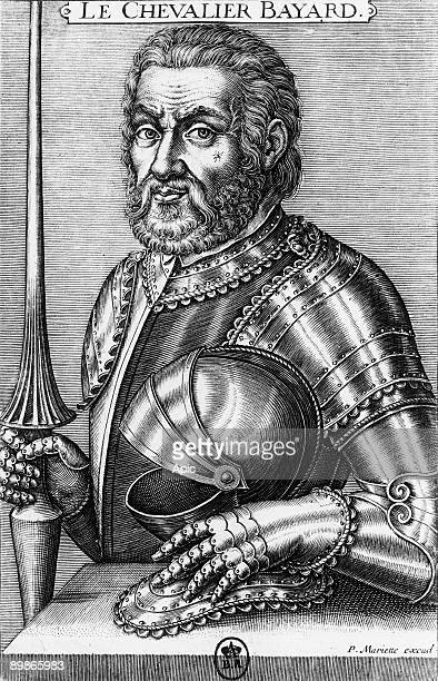 Pierre Terrail lord of Bayard french knight engraving by Mariette