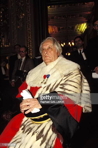 Pierre Truche new general prosecutor at the court of appeal in Paris France on January 06 1993