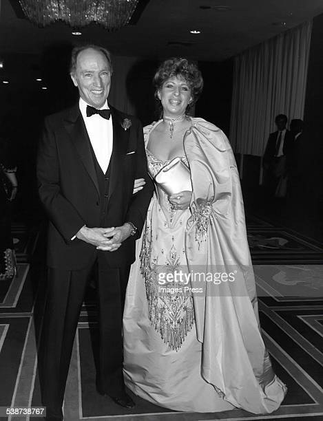 Pierre Trudeau and Barbra Streisand circa 1983 in New York City