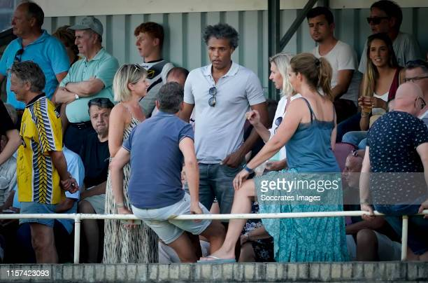 Pierre van Hooijdonk during the Club Friendly match between NAC Breda v RKC Waalwijk at the RKSV Rood Wit on July 23 2019 in Sint Willebrord...