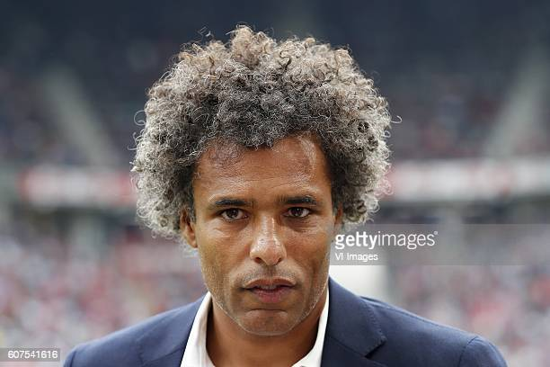Pierre van Hooijdonk during the Dutch Eredivisie match between PSV Eindhoven and Feyenoord Rotterdam at the Phillips stadium on September 18 2016 in...