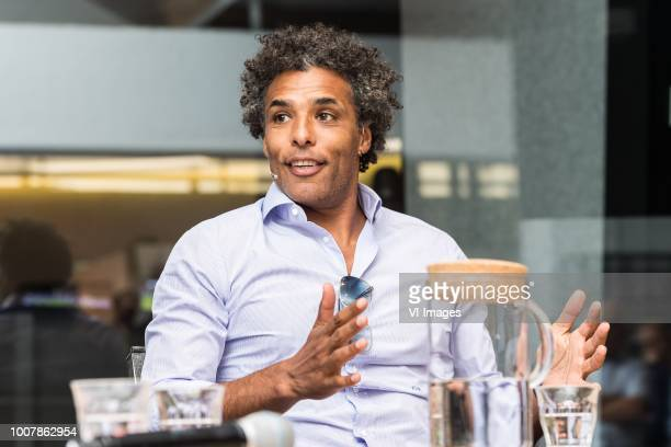 Pierre van Hooijdonk during the press presentation of the Video Assistant Referee at the KNVB Campus on July 30 2018 in Zeist The Netherlands