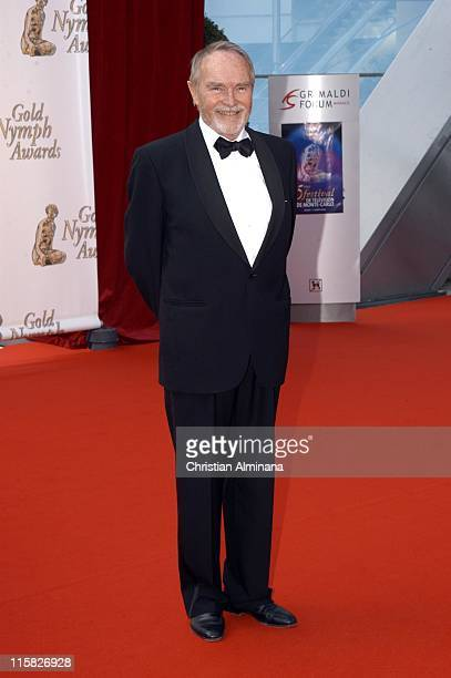 Pierre Vaneck during 45th Monte Carlo Television Festival Closing Award Ceremony at Grimaldi Forum in Monte Carlo Monaco