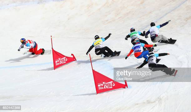 Pierre Vaultier of France Hagen Kearney of the United States Alex Pullin of Australia Markus Schairer of Austria Shinya Momono of Japan and Duncan...