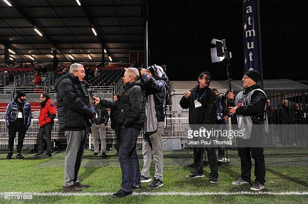 Pierre Yves REVOL president of Castres during the Top 14 match between Lyon Lou and Castres at Matmut Stadium on December 3 2016 in Lyon France