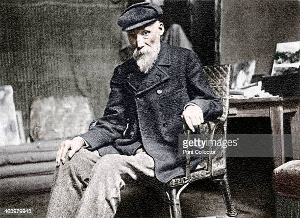 PierreAuguste Renoir French artist 1917 Renoir was one of the foremost painters of the Impressionist movement A photograph from Album de...