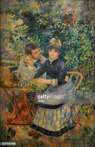 PierreAuguste Renoir French painter Impressionist style In the Garden 1895 Oil on canvas The State Hermitage Museum Saint Petersburg Russia