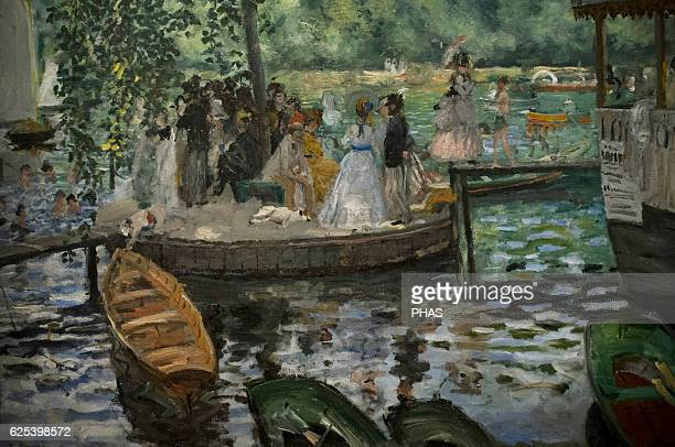 PierreAuguste Renoir French painter La Grenouillere 1869 National Museum Stockholm Sweden