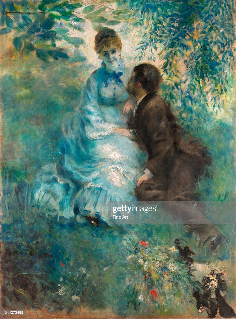 Lovers by Pierre-Auguste Renoir : News Photo
