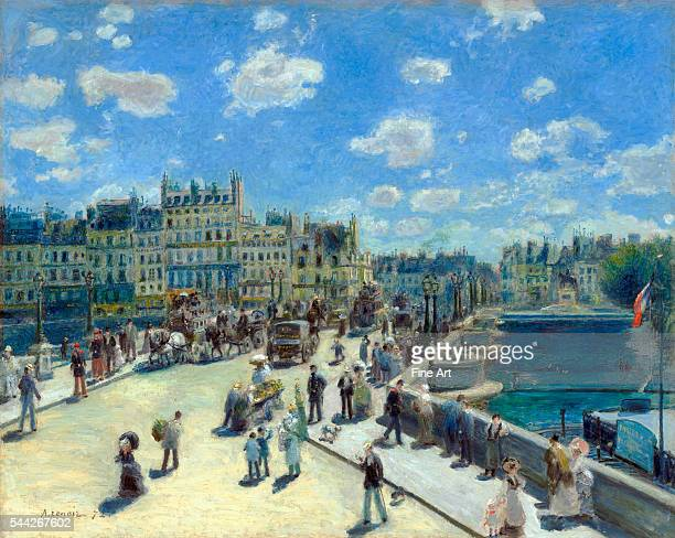 PierreAuguste Renoir Pont Neuf Paris oil on canvas 753 x 937 cm National Gallery of Art Washington DC