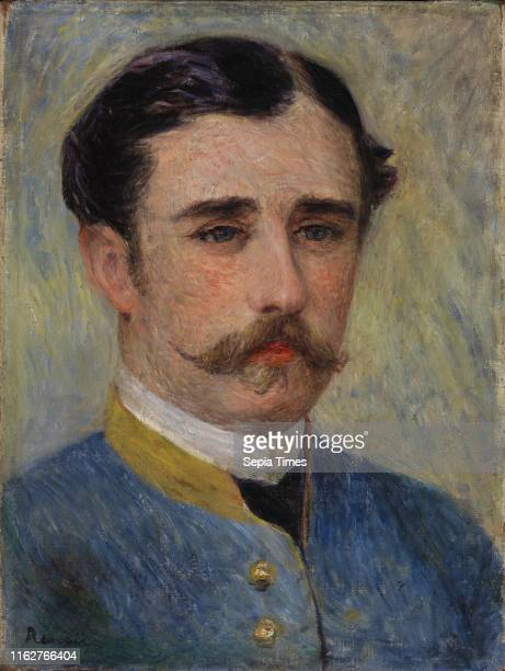 Portrait of a Man PierreAuguste Renoir circa 1879 Oil on canvas Overall 12 13/16 x 9 13/16 in