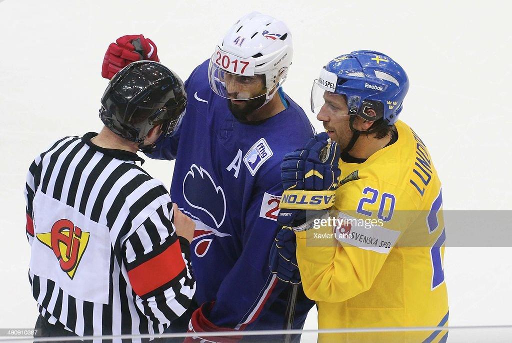 Sweden v France - 2014 IIHF World Championship