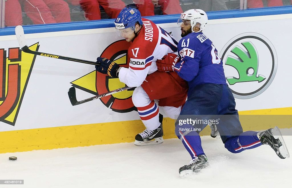 France v Czech Republic - 2014 IIHF World Championship
