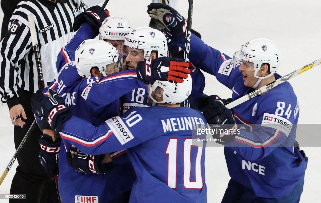 Finland v France - 2017 IIHF Ice Hockey World Championship : News Photo