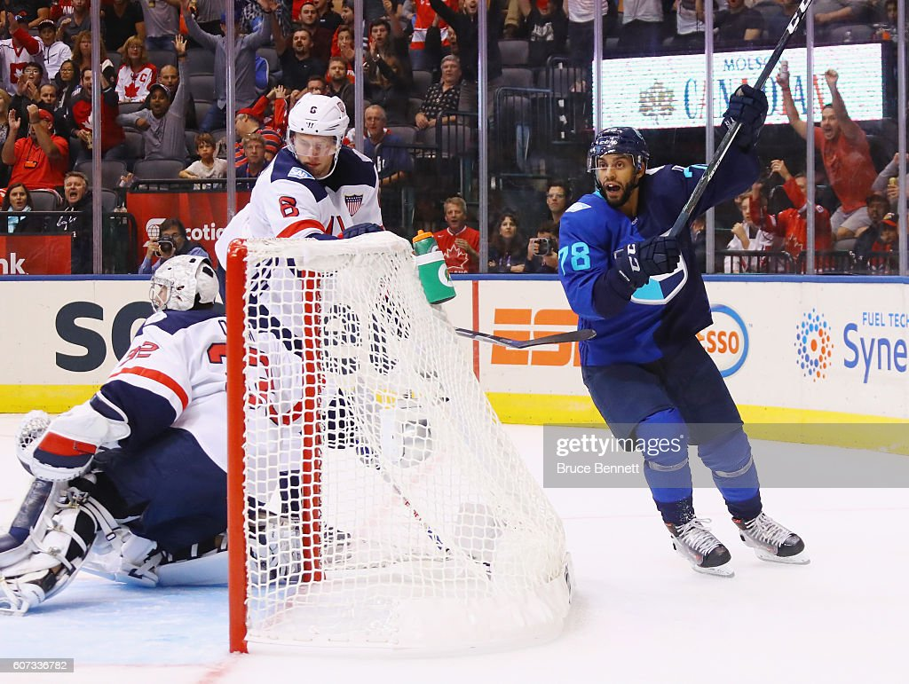 World Cup Of Hockey 2016 - United States v Team Europe : News Photo