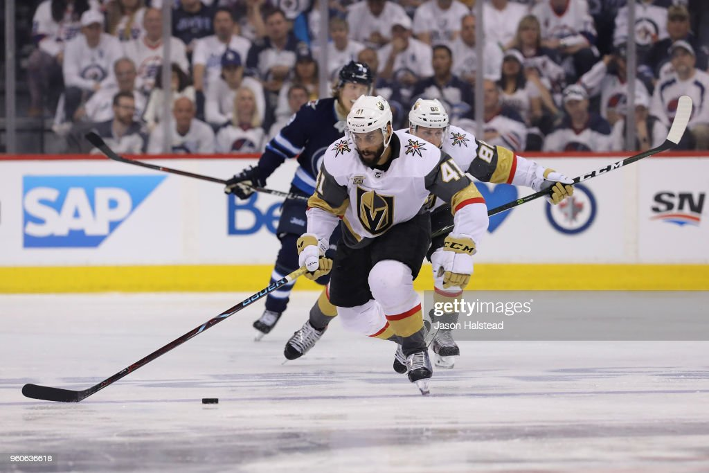 Vegas Golden Knights v Winnipeg Jets - Game Five : News Photo