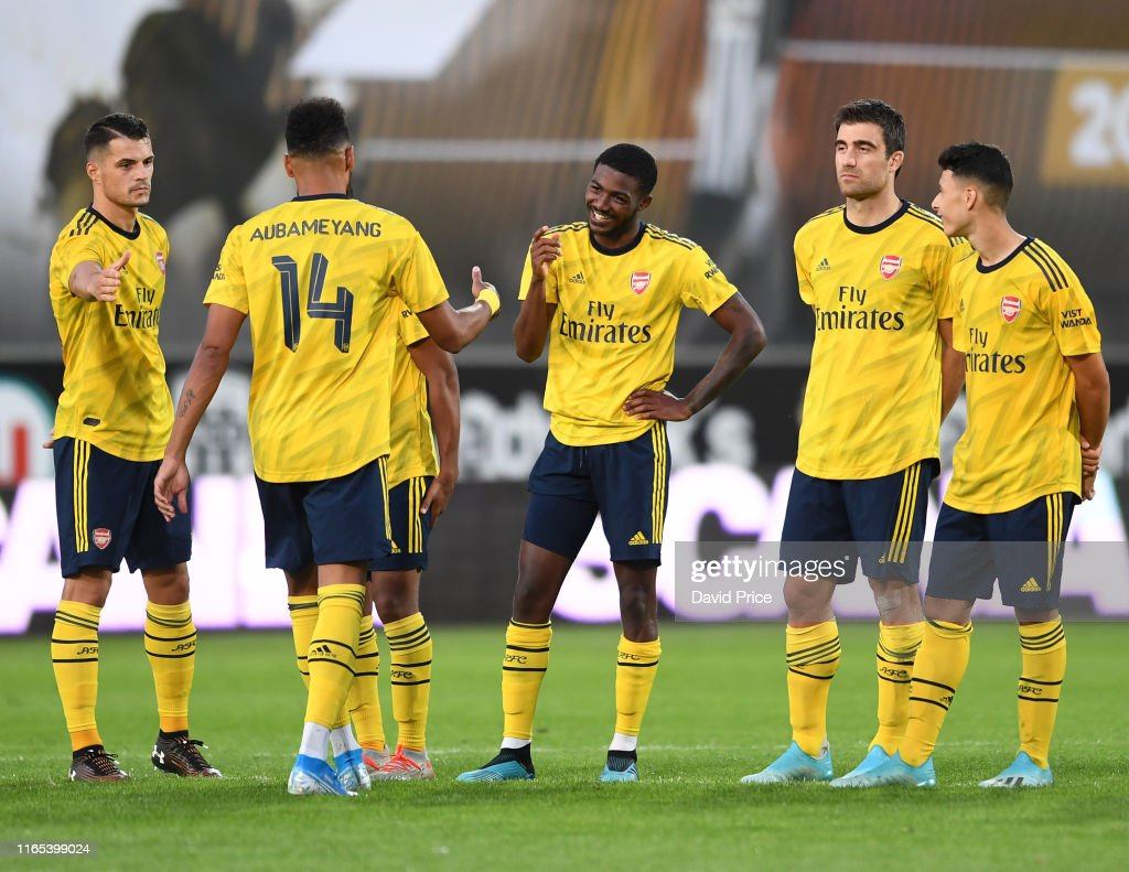 Angers v Arsenal Pre-Season Friendly : ニュース写真