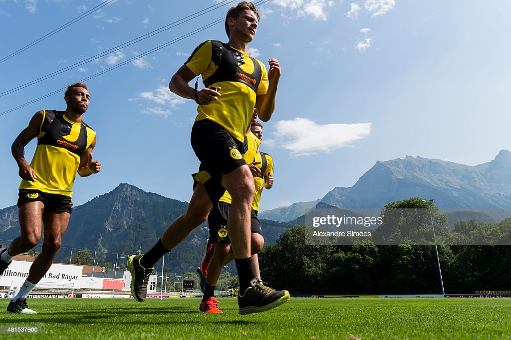 Borussia Dortmund Bad Ragaz Training Camp - Day 4 : News Photo