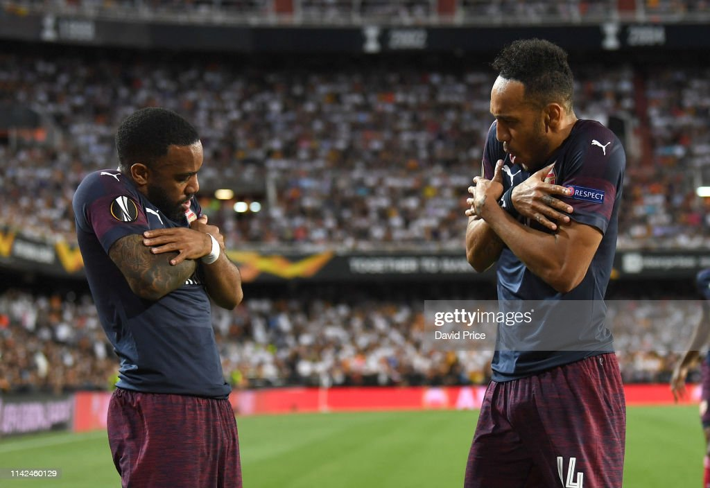 Valencia v Arsenal - UEFA Europa League Semi Final : Second Leg : ニュース写真