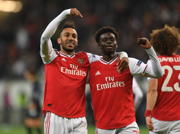 DEU: Eintracht Frankfurt v Arsenal FC: Group F - UEFA Europa League