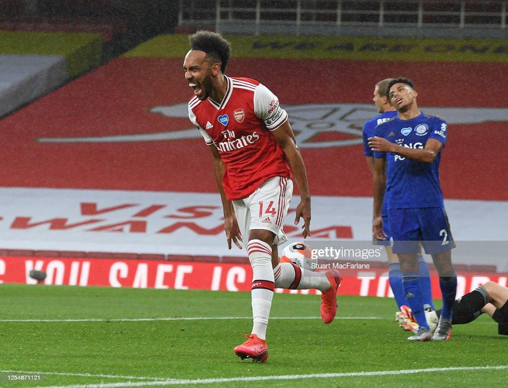 Arsenal FC v Leicester City - Premier League : News Photo