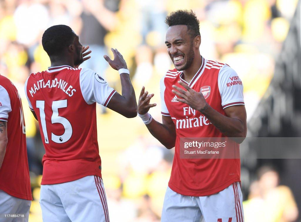 Watford FC v Arsenal FC - Premier League : News Photo