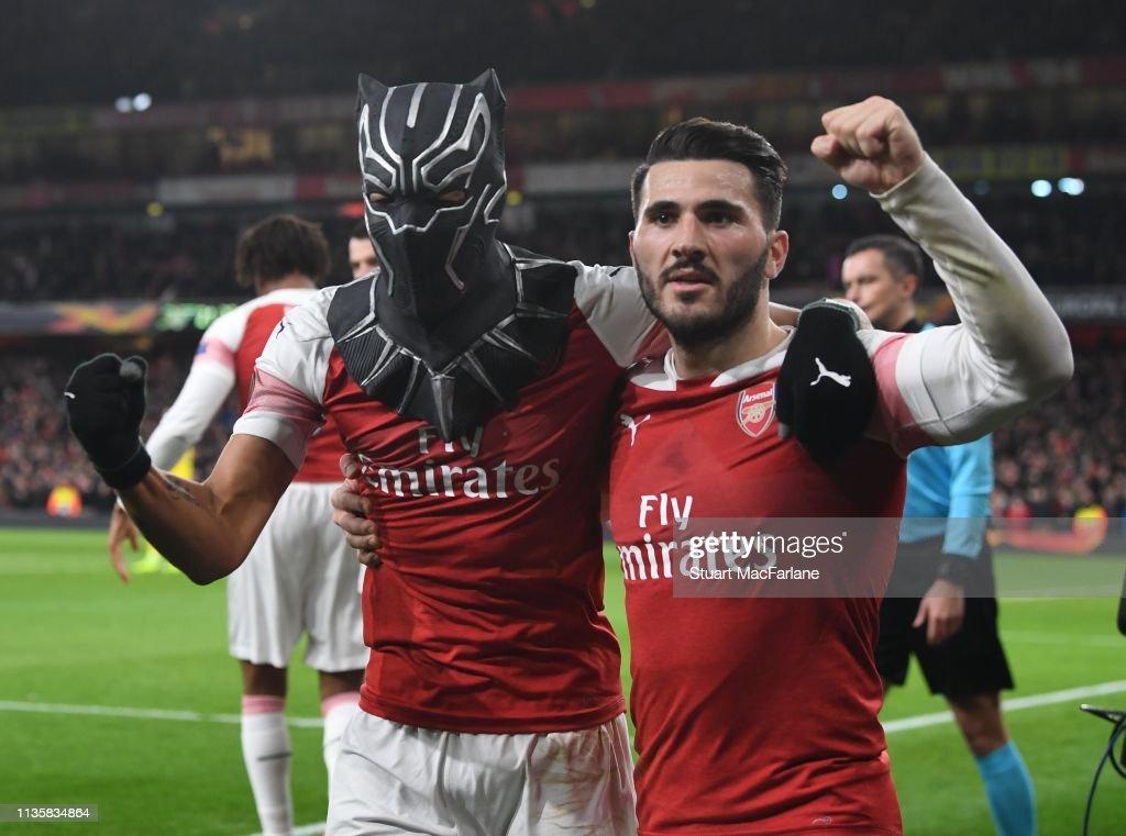Arsenal v Stade Rennais - UEFA Europa League Round of 16: Second Leg : ニュース写真