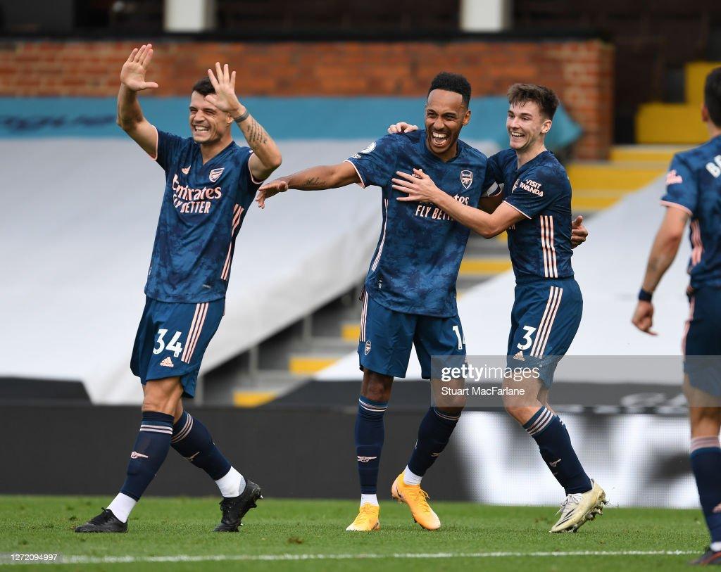 Fulham v Arsenal - Premier League : News Photo