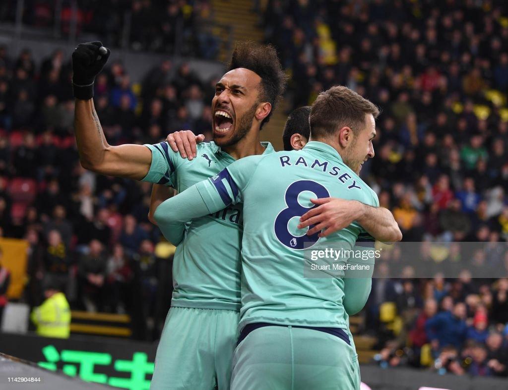 Watford FC v Arsenal FC - Premier League : ニュース写真