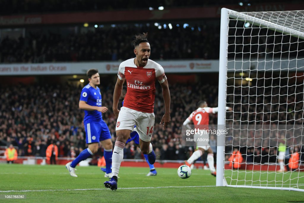 Arsenal FC v Leicester City - Premier League : News Photo