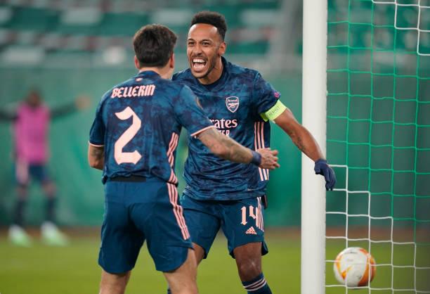 AUT: Rapid Wien v Arsenal FC: Group B - UEFA Europa League