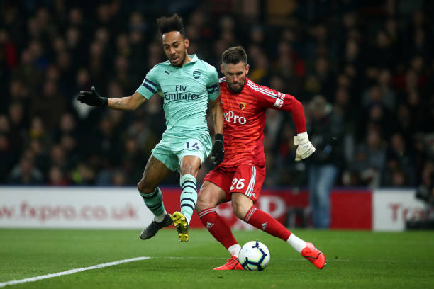 GBR: Watford FC v Arsenal FC - Premier League