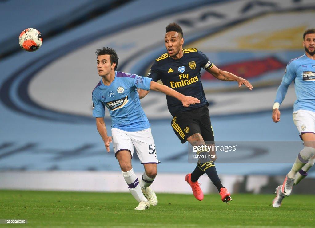 Manchester City v Arsenal FC - Premier League : News Photo